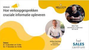 Webinar Sellview Salescentrum